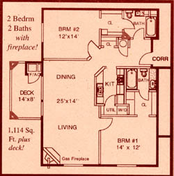 Floor Plan Number 1